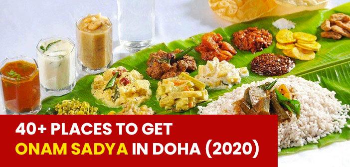 Onam-Sadya Restaurant