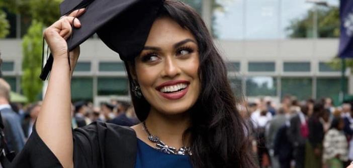 Bhasha Mukherjee Miss England