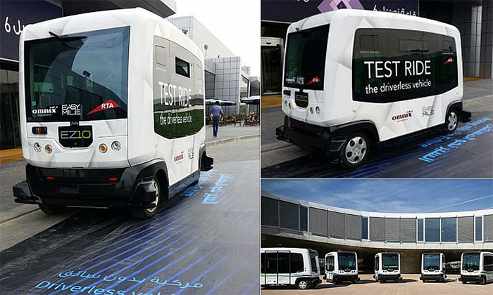 Driverless Cars Dubai